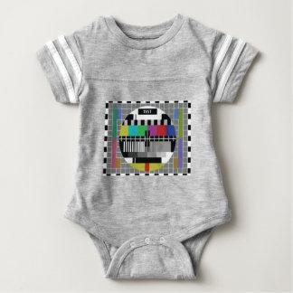 Common Test the PAL TV Baby Bodysuit