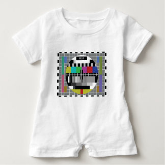 Common Test the PAL TV Baby Romper