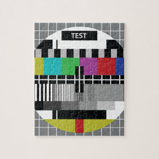 Common Test the PAL TV Jigsaw Puzzle
