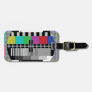Common Test the PAL TV Luggage Tag