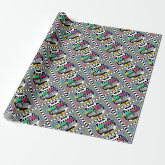 Common Test the PAL TV Wrapping Paper