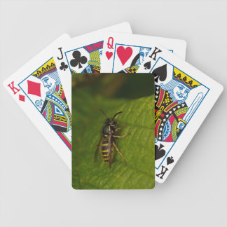 Common Wasp Bicycle Playing Cards