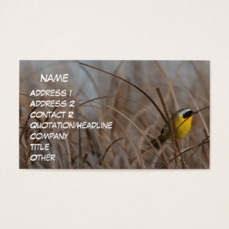 Common Yellowthroat Business Card