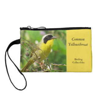 Common Yellowthroat Coin Purse