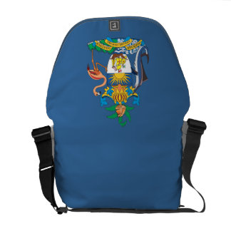 Commonwealth of the Bahamas COA Courier Bag
