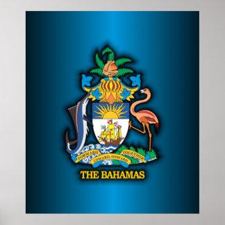 Commonwealth of the Bahamas COA Poster