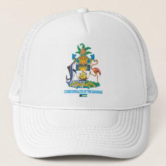 Commonwealth of the Bahamas COA Trucker Hat