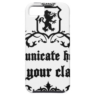 Communicate Honestly In Your Class iPhone 5 Covers