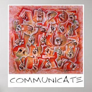 Communicate Poster