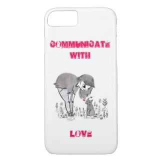 Communicate with love iPhone 7 case