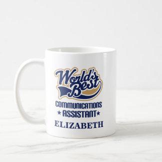 Communications Assistant Personalized Mug Gift