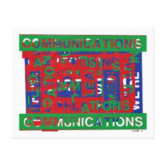 Communications Breakdown Canvas Print