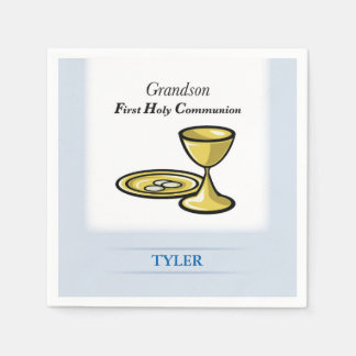 Communion Body and Blood Grandson Disposable Napkins