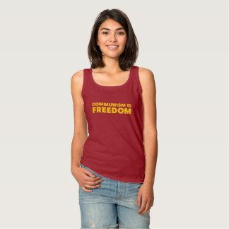 Communism is Freedom Tank Top