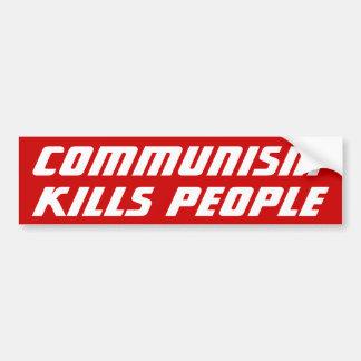 Communism Kills Bumper Stickers