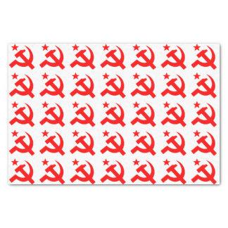 Communism sign of hammer vector tissue paper