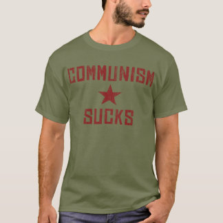 Communism Sucks - America First Anti Communist T-Shirt