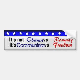 Communism vs Freedom Bumper Sticker