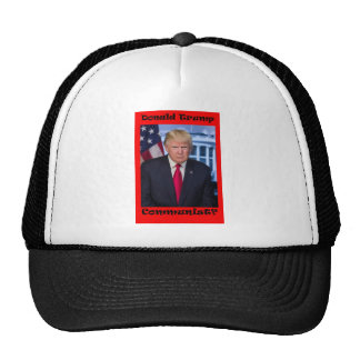 Communist - Anti Trump Trucker Hat