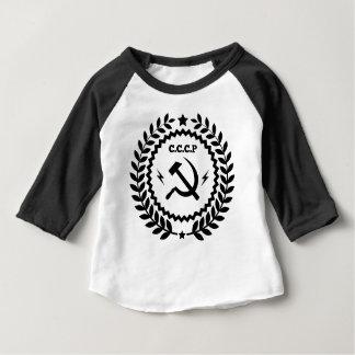 Communist CCCP Hammer Sickle Badge Baby T-Shirt