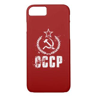 Communist CCCP Hammer Sickle White iPhone 8/7 iPhone 8/7 Case