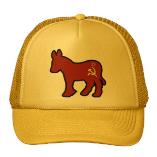 Communist Donkey Trucker Hat