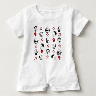 Communist Leaders Baby Romper
