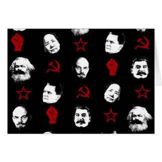 Communist Leaders Card