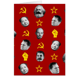 Communist Leaders Card