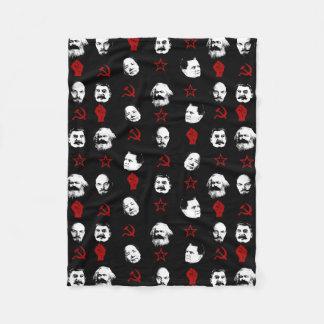 Communist Leaders Fleece Blanket