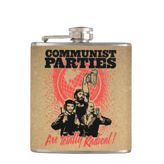 Communist Parties Flasks