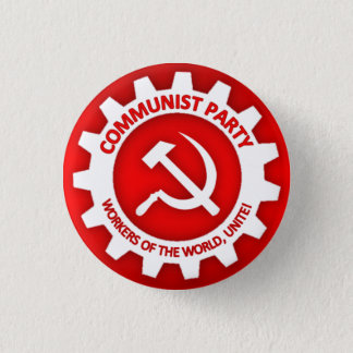 Communist Party Button