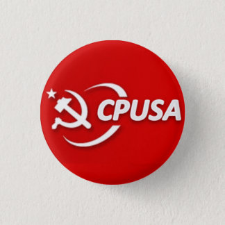 Communist Party (CPUSA) Button