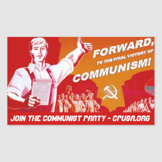 Communist Party Sticker