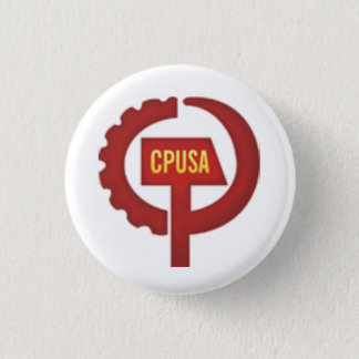 communist party usa 1 inch round button