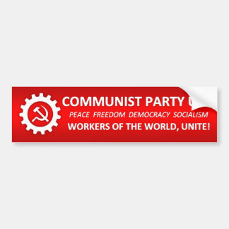 Communist Party USA Bumper Sticker