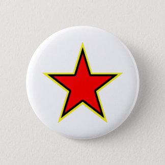 Communist Red Star 2 Inch Round Button