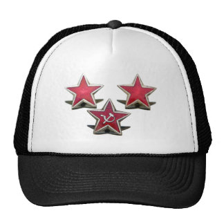 Communist stars trucker hat