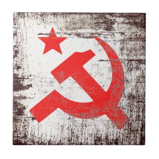 Communist Symbol Tile