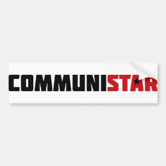 communistar bumper sticker