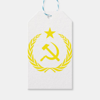 Communiste Cold War Flag Gift Tags
