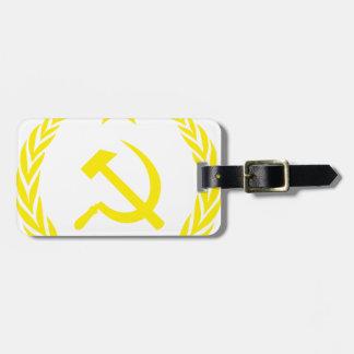 Communiste Cold War Flag Luggage Tag