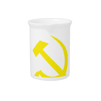 Communiste Cold War Flag Pitcher