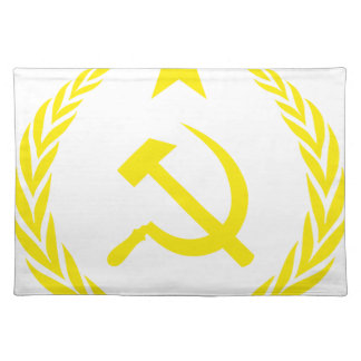 Communiste Cold War Flag Placemat