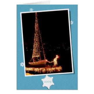 Community Boating Rudolph-2009 Card