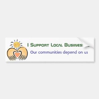 Community Business Support Bumper Sticker