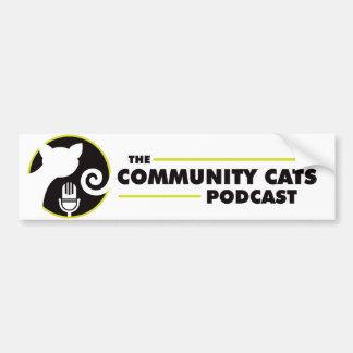 Community Cats Bumper Sticker