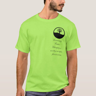 Community Gardens, changing our country T-Shirt