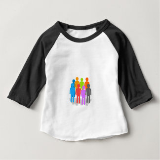 Community of people baby T-Shirt