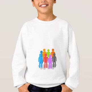 Community of people sweatshirt